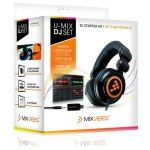 MIXVIBES U-MIX DJ SET DJ-комплект наушники, USB-аудио плаг, софт MixVibes DJing