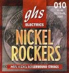 GHS R+RL EL GTR, N ROCK, LIGHT, 010 Струны для электрогитары